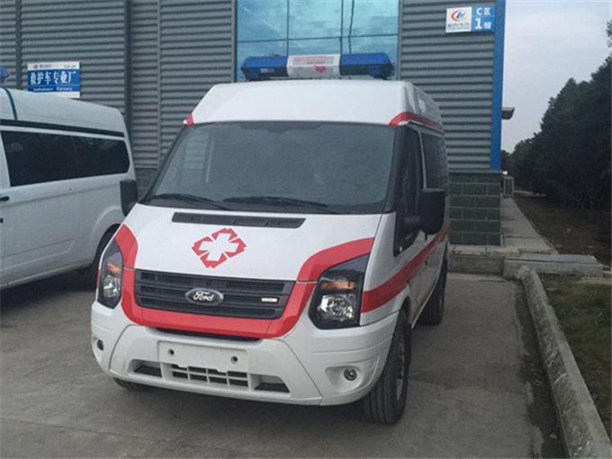 福特全顺新世代v348监护救护车